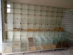 Título do anúncio: Expositor e vitrine de vidro