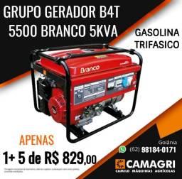Gerador Branco B4T-5500 E3 Trifásico