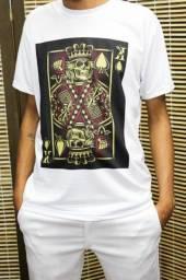 Camiseta Caveira Naipe