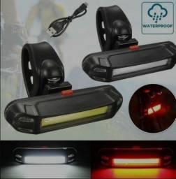 Luz traseira para bike