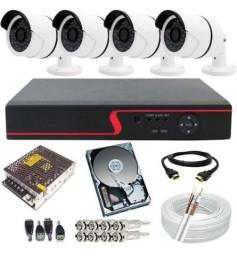 Título do anúncio: Sistema de segurança completo para instalação