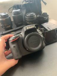 Nikon D5100 + 3 lentes