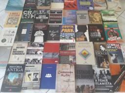 Kit 40 Livros de Ciências Sociais, História, Filosofia e Economia