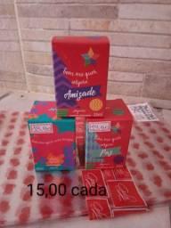 Perfumes miniaturas/Caixa d sabonete