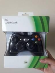 Controle p/ Xbox 360 e Pc c/ fio