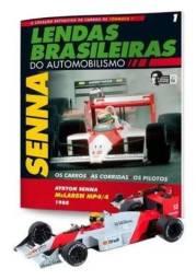Miniatura de fórmula 1 MacLaren MP4/4- Ayrton Senna