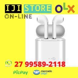 Título do anúncio: Fones De Ouvido I7 Estilo Air Sendo 2 Pares Via Bluetooth 5.0 + Vendido