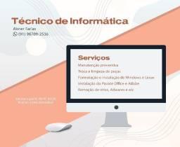 Técnico de informática - Realiza visitas domiciliares