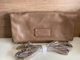 Bolsa nova arezzo couro com alça