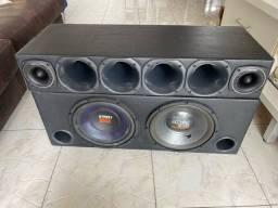 Som p/ Carro Completo - Selenium Street Bass 250w + Modulo 2400w
