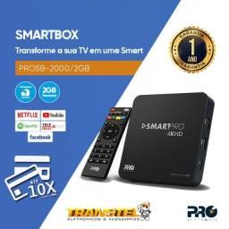 Tv Box Smart Proeletronic Android 4k 2gb Full Hd
