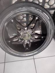 Vendo roda aro 20/24545 roda pra camioneta