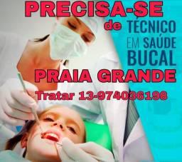 Título do anúncio: Vaga para técnica em saúde bucal tsb