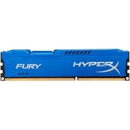 Memória HyperX Fury, 4GB, 1866 - 2000 MHz, DDR3