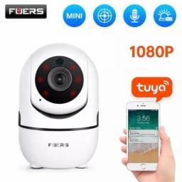Câmera De Segurança Wi-fi Babá Eletrônica Fuers 1080
