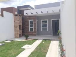 SI - Casa nova 3 quartos, 2 banheiros, primeira parcela só em Setembro