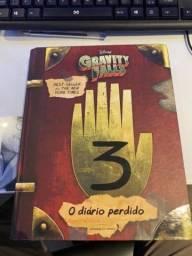 Livro infantil Disney diário de gravity falls