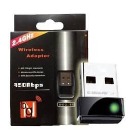(NOVO) Placa adaptador wireless 600mbps 2.4GHZ bng