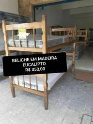 PROMOÇÃO  QUEIMA DE ESTOQUE Beliche E Triliche  Nova em Madeira Maciça