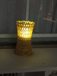 Título do anúncio: luminaria design proprio  acompanha lampada nova