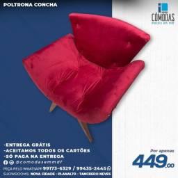 Título do anúncio: Poltrona Vermelha a pronta entrega - Entrega grátis
