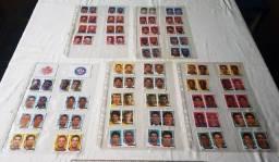 Colecionável - Lote De 48 Figurinhas Campeonato Brasileiro 2008 - Raridade