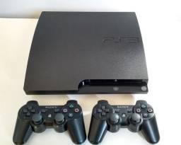 PS3 500GB + 51 Jogos + Controle Original - Aceito cartão 12x