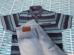 Título do anúncio: Polo Tommy Hilfiger + Bermuda Jeans