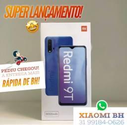 LANÇAMENTO! Xiaomi REDMI 9T 128GB! Novo Lacrado Garantia / Versão GLOBAL