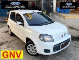 Fiat Uno Vivace 4 Portas Completo 2016 + GNV. Entrada a partir de 6.500,00 + 469,99 Fixas.