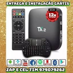 TV BOX TX2 MAIS TECLADO