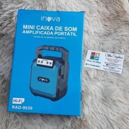 Caixa Som Bluetooth Wireless Usb Rádio Tf