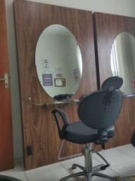 Painel com espelho
