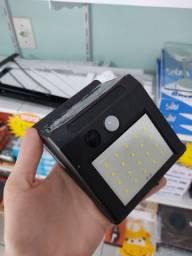 Luminária solar de parede sensor de movimento