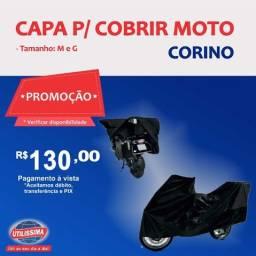 Capa Para Cobrir Moto Corino - P/M/G/ - Entrega Grátis