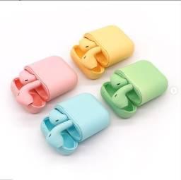 Fones de Ouvido sem fio Candy ColorsTWS Bluetooth 5.0
