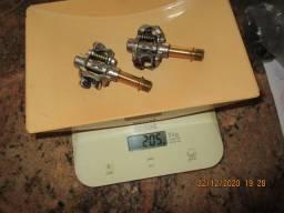 Pedal mtb, xpeedo m8-force -ti -titanium peso 205 gr