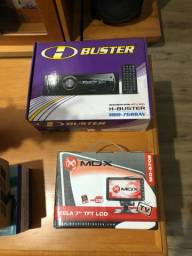 DVD H-Buster HBD-7688 AV e TV TELA 7? TFT LCD
