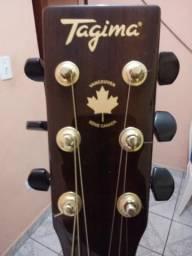 Violão tagima com reverb choros efeito guitarra