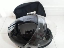 Vendo PAR de capacetes italianos Nolan N104 escamoteáveis L/XL