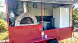 Food Truck com forno a lenha