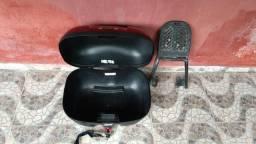 Baú e Churrasqueira para CB300 troco em violão, geladeira ou maquina de solda