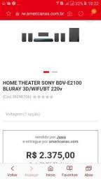 Home theater da sony 1000rms de potência, ele é completo super top!