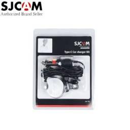 Car charger sj cam car kit suporte para Carro caregador + suporte