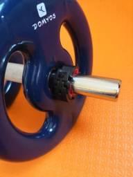 Kit Halteres Metal Musculação 10KG comprar usado  Rio de Janeiro