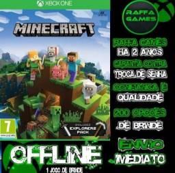Minecraft + Jogo De Brinde