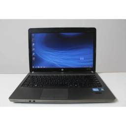Notebook hp core i5 probook 4gb hd ssd 120gb acabament aluminio so 760 aceit not inferior