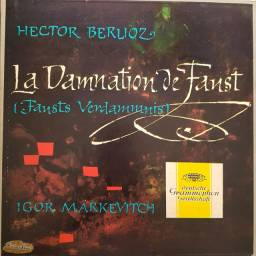 """Liquidação! Ópera """"A danação de Fausto"""", de Hector Berlioz, em vinil"""