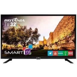"""Smart TV 32"""" Britania *No estado* Leia Descrição"""
