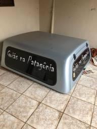 Capota De Fibra S10 Cabine Dupla